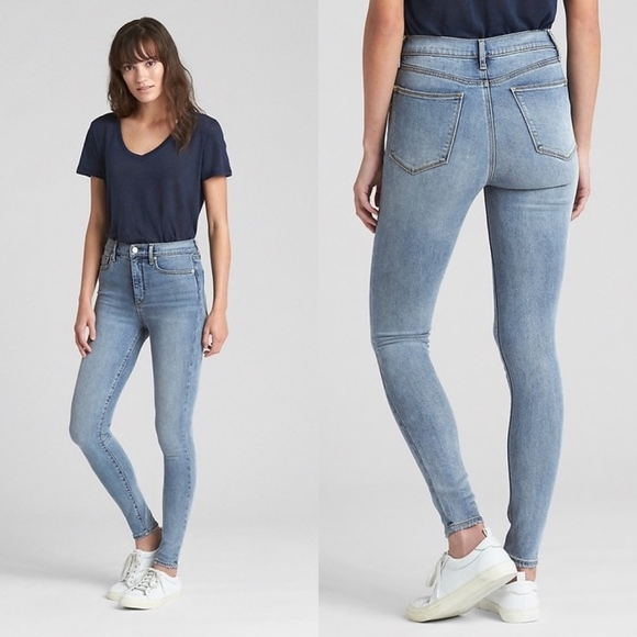 c898d177bb GAP Jeans | Soft Wear High Rise True Skinny | Poshmark